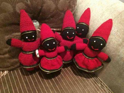 iranian haji firooz firuz dolls nowruz