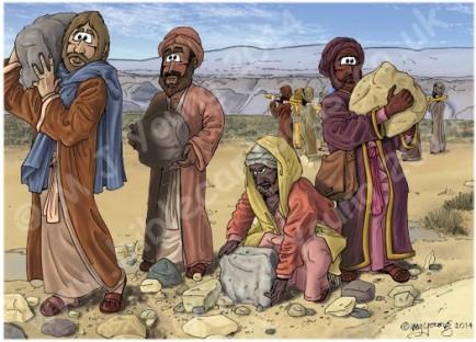 israelites 12 stones