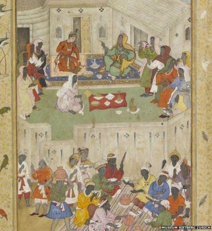 Persian manuscript Zanji Israelites