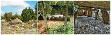 stone megalith collage