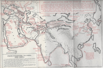 palestine to india to china map pg 366 Jews non talmudic