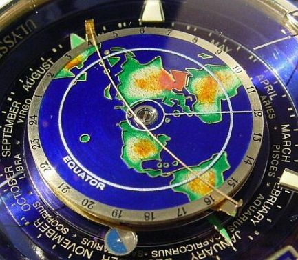 ulysses nardin flat earth chronometer watch