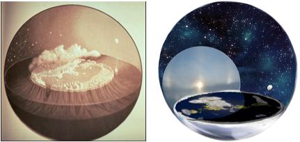 flat earth model 2