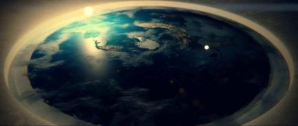 flat earth plane