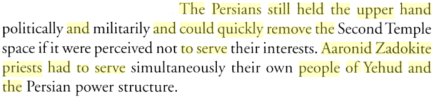 Priesthood in Ancient Israel By William R. Millar, PG 36-36