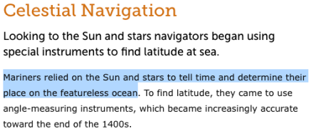 celestial navigation definition