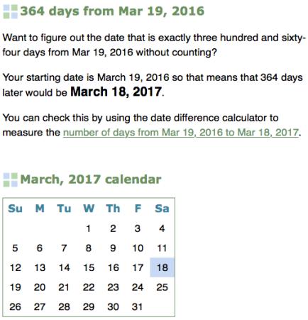 2016 equinox date to 2017 equinox