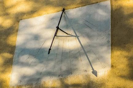 sundial time piece