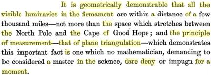zetetic astronomy pg 180-181