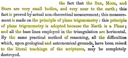 zetetic astronomy pg 187-188
